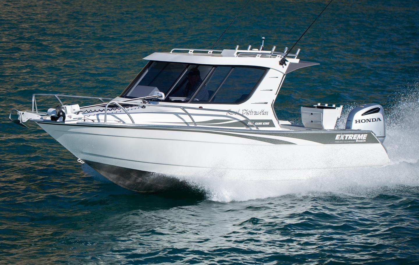 Extreme Boats 745 Game King available from Hastings Marine, Port Macquarie