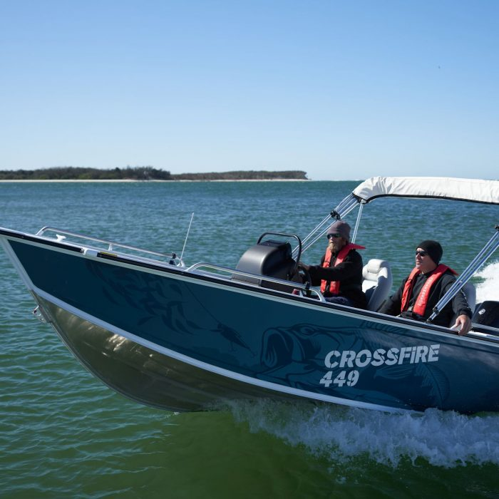Stacer 449 Crossfire Hastings Marine Port Macquarie