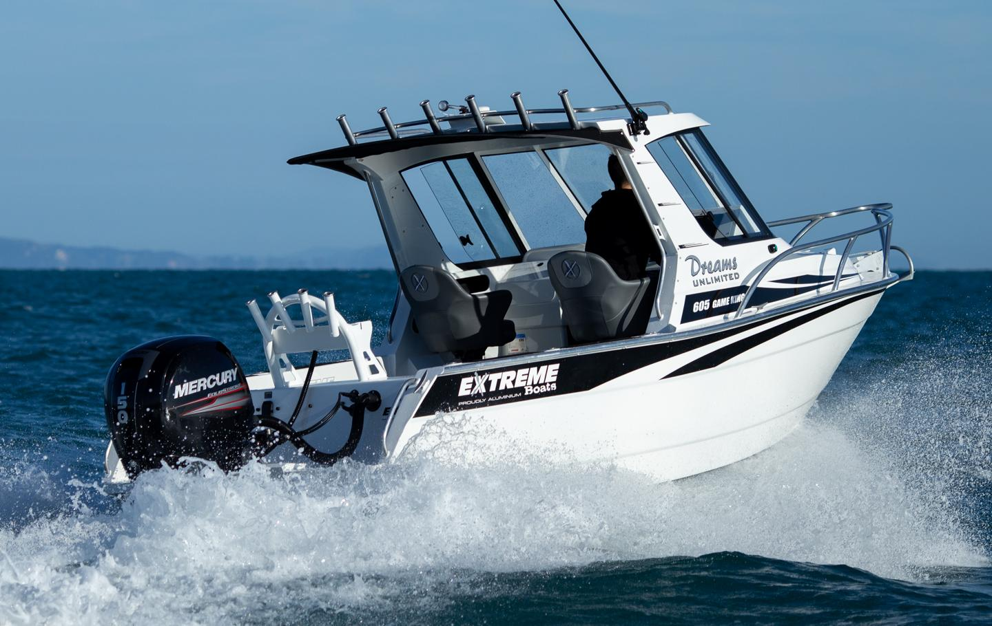 Extreme Boats 605 Game King available from Hastings Marine, Port Macquarie
