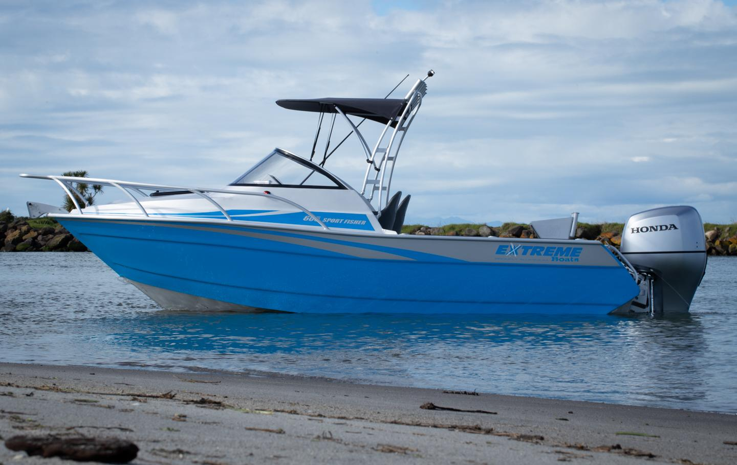 Extreme Boats 605 Sportfisher available from Hastings Marine, Port Macquarie